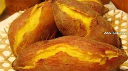 高州爆皮黄番薯